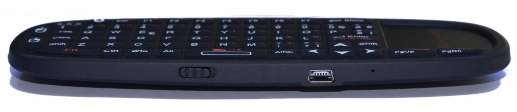 Rii mini i10 mini USB recharging connector