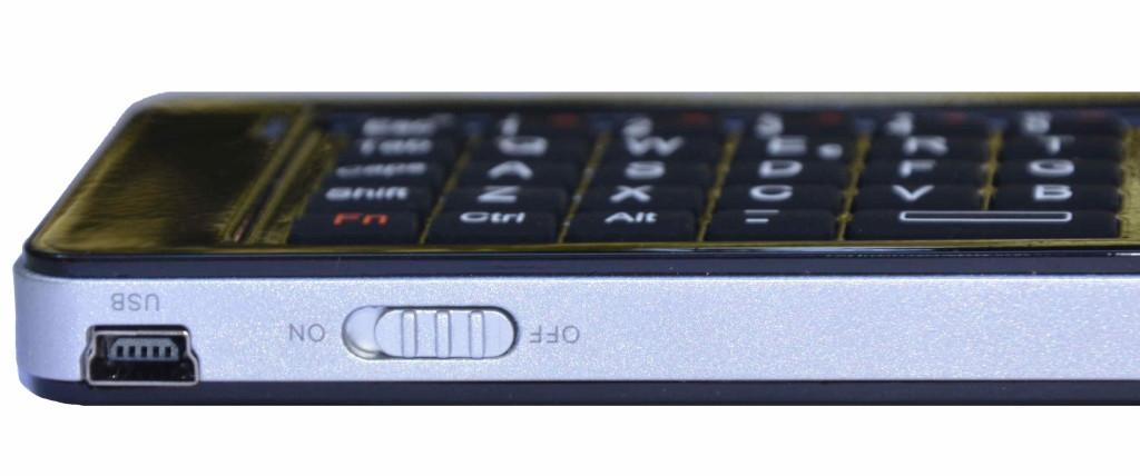 Rii mini i13 mini USB recharging connector