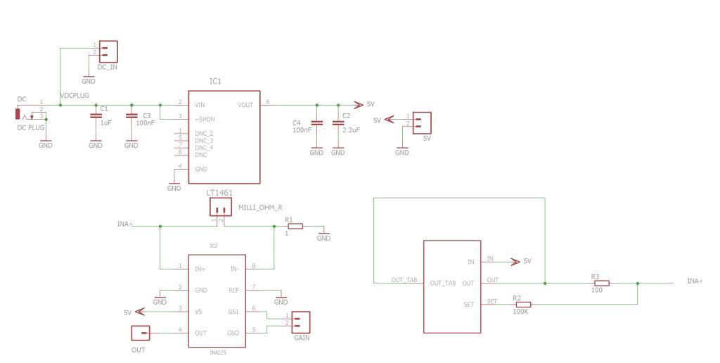 DIY milliohmmeter schematic